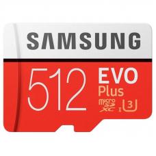 Карта Памяти Samsung microSDHC 512GB EVO Plus