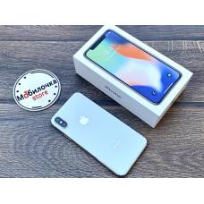 Apple iPhone X (10) 64Gb Silver Идеальное Б/У