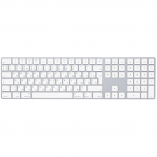 Apple Magic Keyboard with Numeric Keypad (RU) Silver