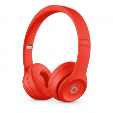 Beats Solo3 Wireless Headphones The Beats Icon Collection - Citrus Red