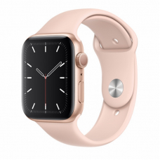Apple Watch S5 44mm Gold Aluminum / Pink Sand Sport Band