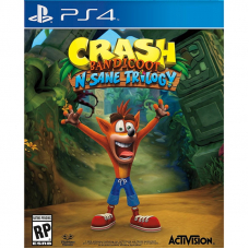 Игра Crash Bandicoot N. Sane Trilogy (PS4)