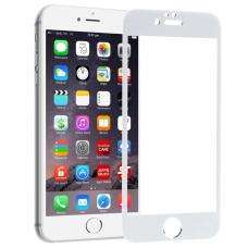 Защитное стекло 3D для iPhone 6/6S Белое (Тех.Упаковка)