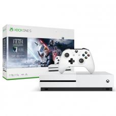 Microsoft XBox One S 1TB White + Star Wars Jedi Fallen Order