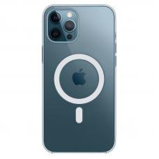 Чехол-накладка iPhone 12 Pro Max Clear Case MagSafe
