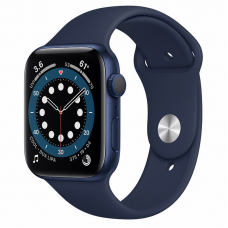 Apple Watch S6 44mm Blue Aluminum Case / Blue Sport Band