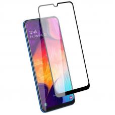 Защитное стекло 3D для Samsung Galaxy A20/A30/A30S/A50/A50S/M30S Черное (Тех.Упаковка)