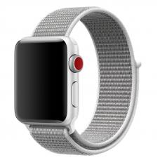Ремешок для Apple Watch 42/44mm Loop White Gray