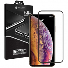 Защитное стекло 3D MOCOll Black Diamond для iPhone X/XS/11 Pro Черное