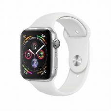 Apple Watch S4 40mm Silver Aluminum / White Sport Band Идеальное Б/У
