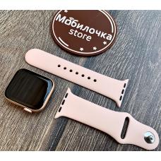 Apple Watch S4 40mm Gold Aluminum / Pink Sand Sport Band Идеальное Б/У