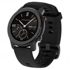 Xiaomi Amazfit GTR 42mm Starry Black / Black Silicone Strap спортивные часы