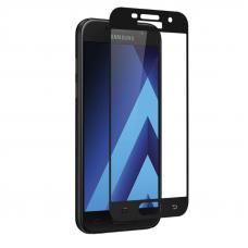 Защитное стекло 3D для Samsung Galaxy A7 (2017) Черное (Тех.Упаковка)
