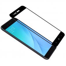 Защитное стекло 3D для Xiaomi Mi A1 Черное (Тех.Упаковка)