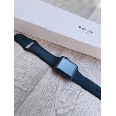 Apple Watch S3 38mm Space Gray Aluminum / Black Sport Band Идеальное Б/У