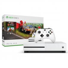 Microsoft XBox One S 1TB White + Forza Horizon 4 + Lego DLC