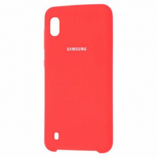 Чехол Samsung A10 Silicone Cover Red