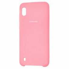Чехол Samsung A10 Silicone Cover Pink