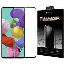 Защитное стекло 3D MOCOll Black Diamond для Samsung Galaxy A51 Черное