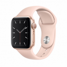 Apple Watch S5 40mm Gold Aluminum / Pink Sand Sport Band