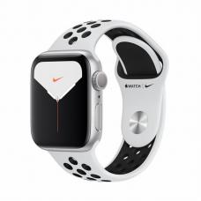 Apple Watch S5 NIKE 40mm Silver Aluminum / Pure Platinum Sport Band Идеальное Б/У