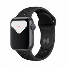 Apple Watch S5 NIKE 40mm Space Gray Aluminum / Black Sport Band Идеальное Б/У